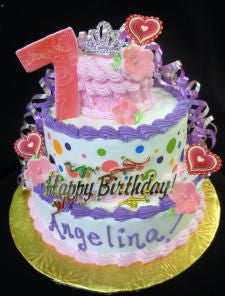 Angelina Celebration Tier Cake