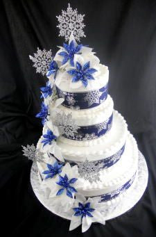 Winter Wonderland Premier Wedding Cake