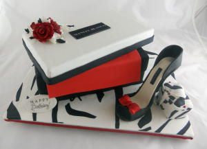 Designer Stiletto with Shoebox