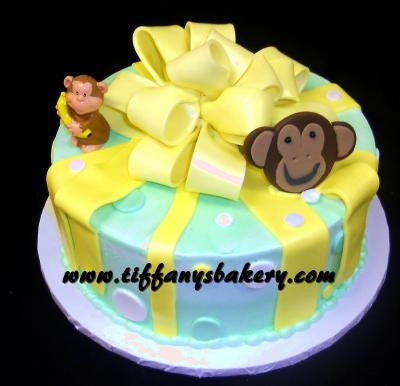 Monkey with Yellow Bow