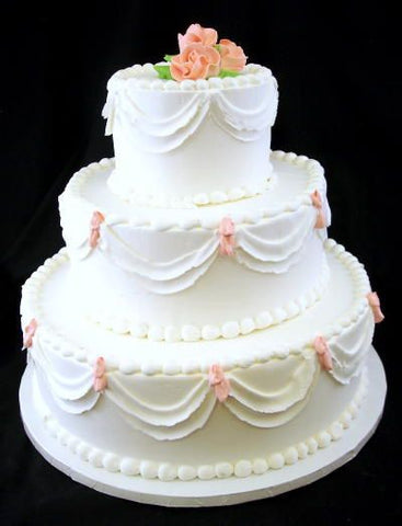 Summer Love Classic Wedding Cake