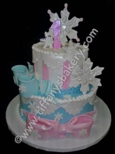 My 1st Birthday Snowflake Celebration