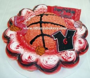 Basketball with Cupcakes