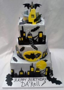 Batman Square Celebration Tiers