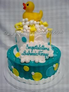 Ducky Baby Shower Celebration Tier
