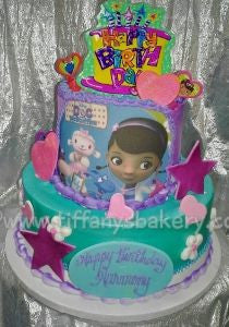Doc McStuffins Celebration Tier Cake