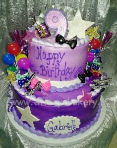 Party Celebration Tier Cake