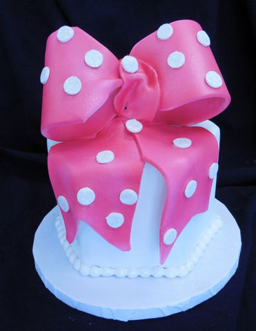 Big Bow Fondant Accent