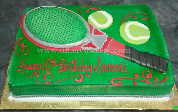 Tennis Racket Cake Tiffany S Bakery