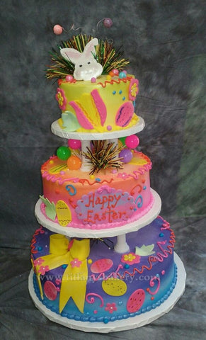 Easter Celebration 3 Tier Cake