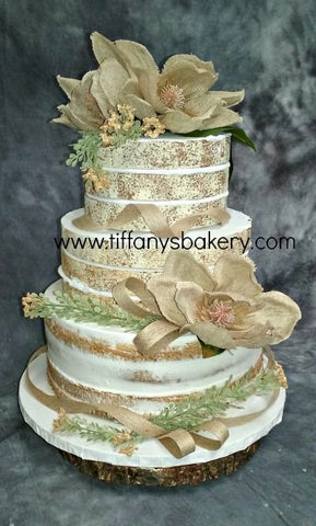 Naked Cake Premier Wedding Cake