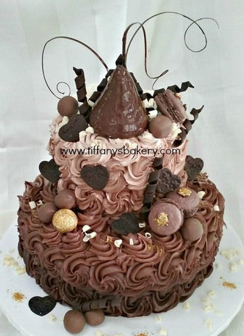 Chocolate Fantasy Tier Cake