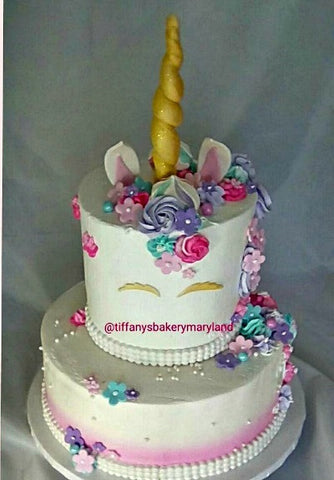 Unicorn Celebration Tier Cake