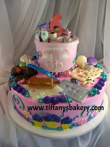 Baking Celebration Tier Cake