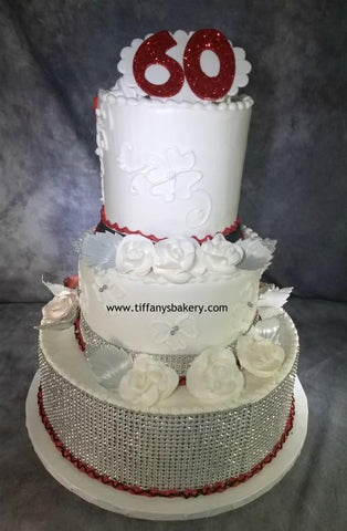 Tall Tier Celebration Three Tier Cake
