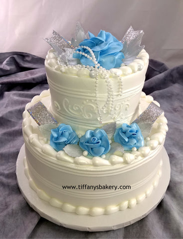 Wedded Bliss Classic Wedding Cake