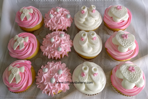 Baby Shower Cupcakes - Dozen