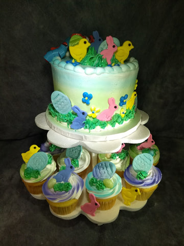 Easter  Cupcake Tower