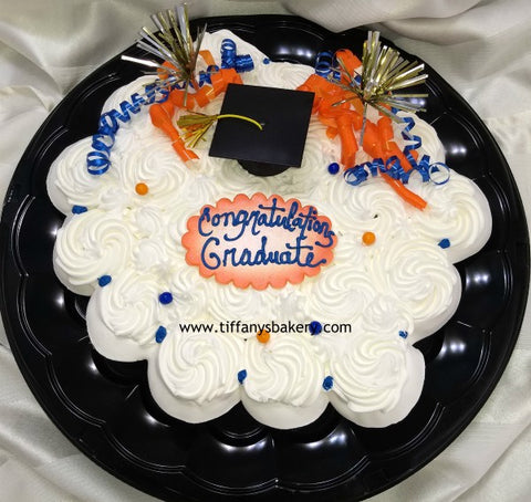 Cupcakes on a Tray - 2 dozen Graduation