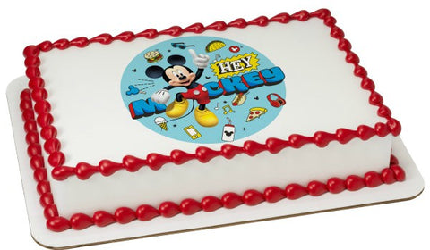 Mickey and the Roadster Racers - Hey Mickey Edible Image Layon #42492