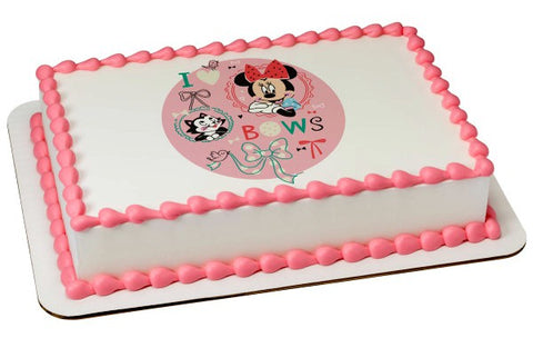 Disney Baby Minnie Mouse Edible Image #20997