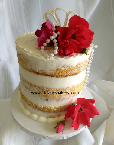 Naked Cake with Three Layers