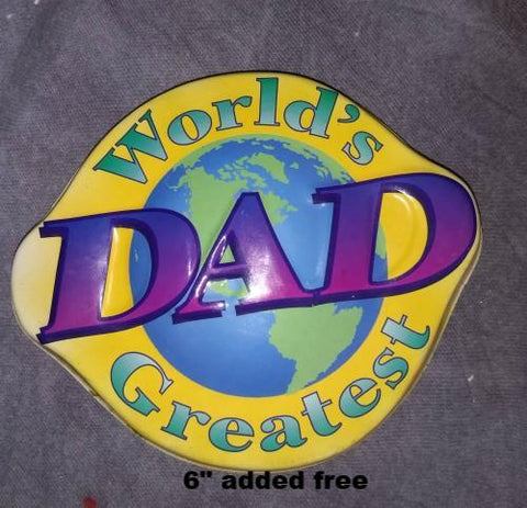 PopTop - World's Greatest Dad Sheet Cake Basic Budget