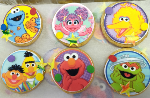 Cookies with Edible Image Layon