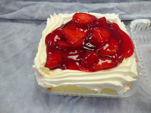 Strawberry Shortcake Slice - Available Today