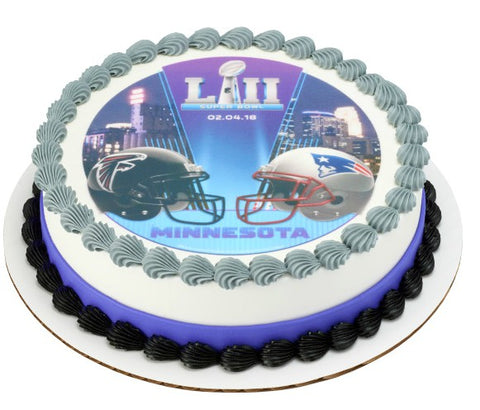NFL Super Bowl LII Edible Image Layon #49731