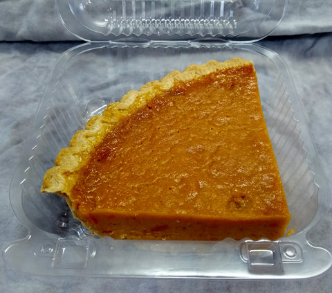 Sweet Potato Pie Slice  - Available Today - CALL TO CONFIRM BEFORE ORDERING