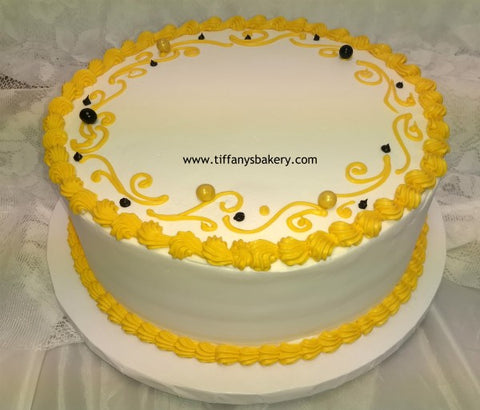 Trim Only Round Cake Basic Budget