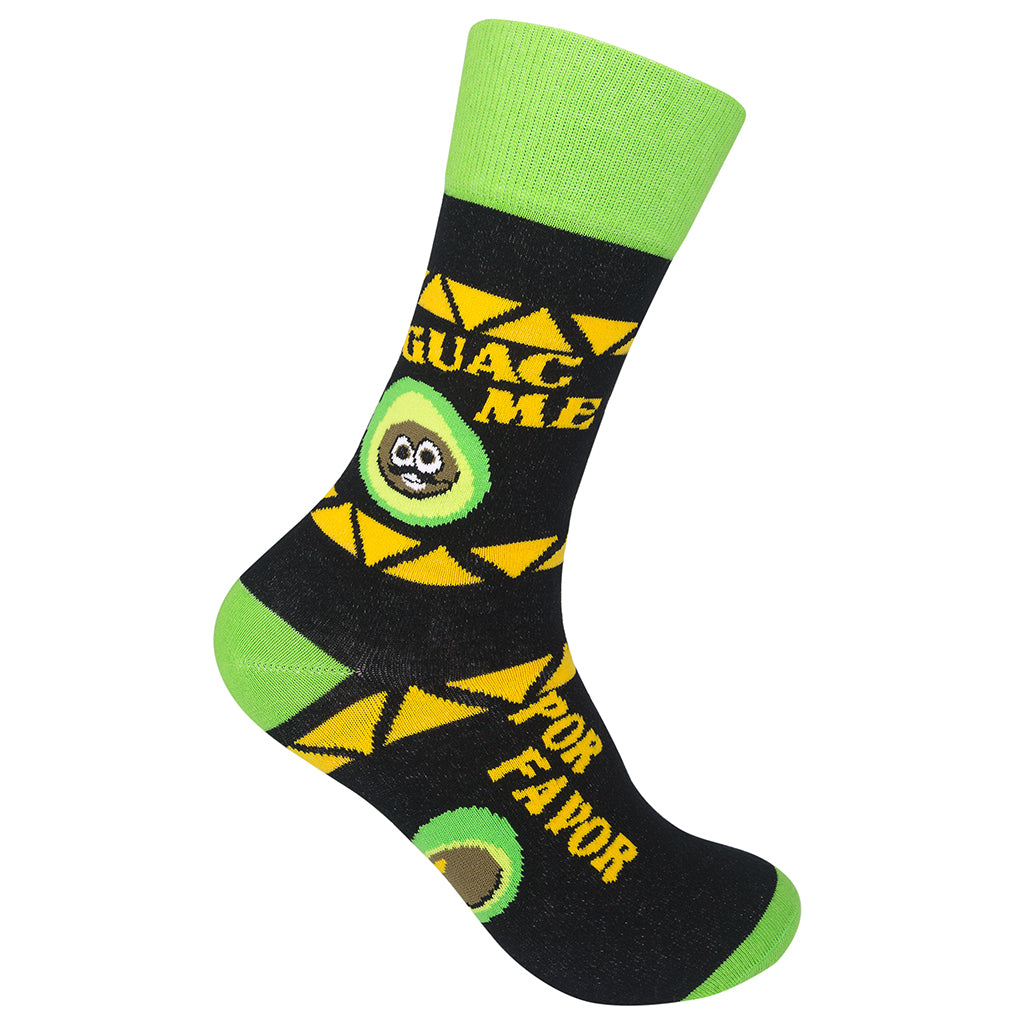 Guac Me Por Favor Socks