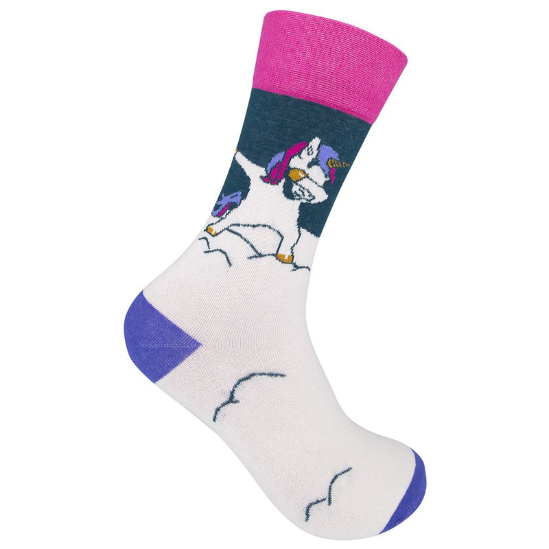 Dabbing Unicorn Socks