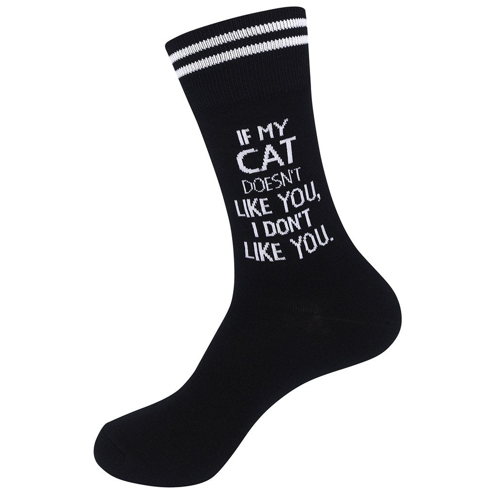 If My Cat Doesn't Like You Socks