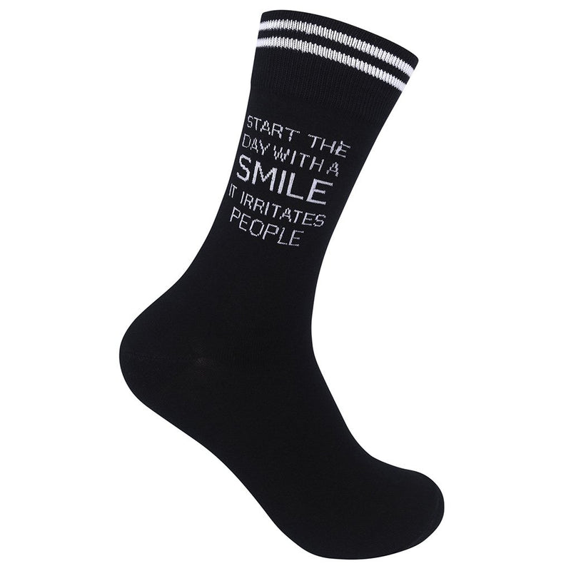 15190025 - Start The Day With A Smile Socks