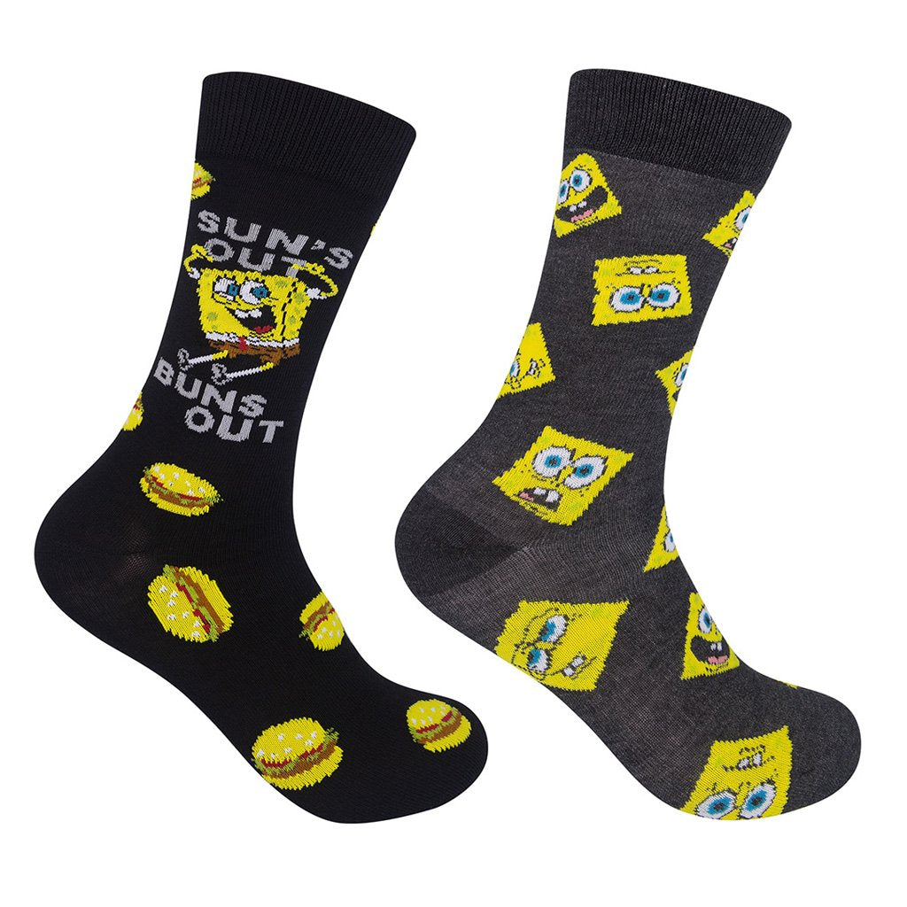 Sun's Out Buns Out Spongebob 2-pk