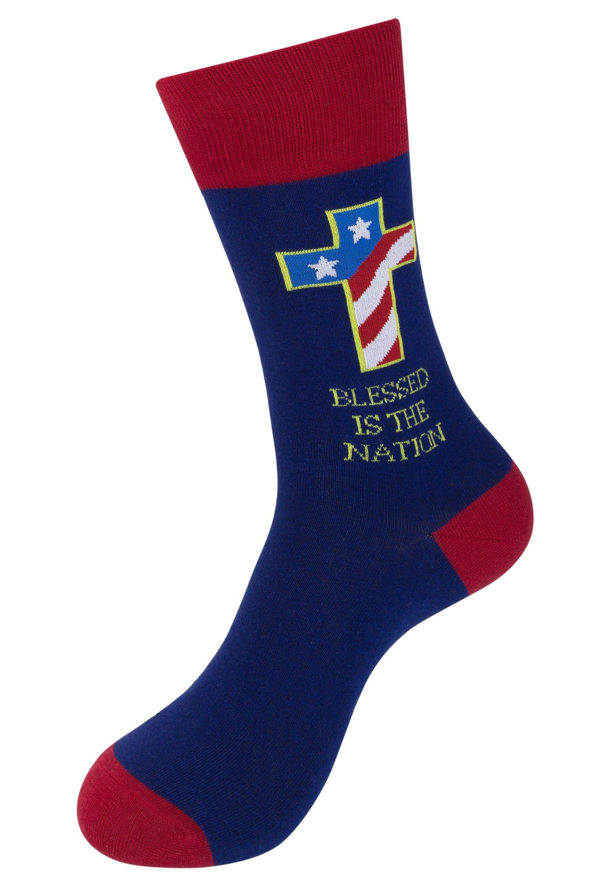Blessed Is the Nation Socks