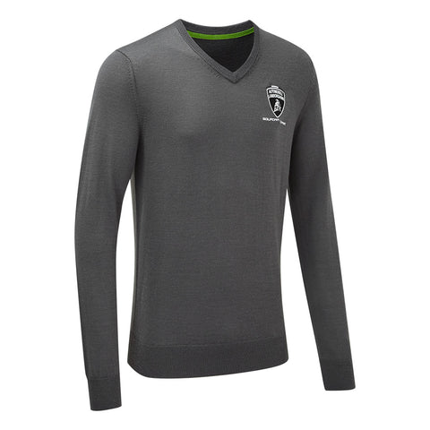 NEW Lamborghini Men's Team Knitted Sweater