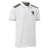 Lamborghini Men's White Polo Shirt