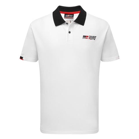 NEW Toyota TGR Men's White Polo Shirt