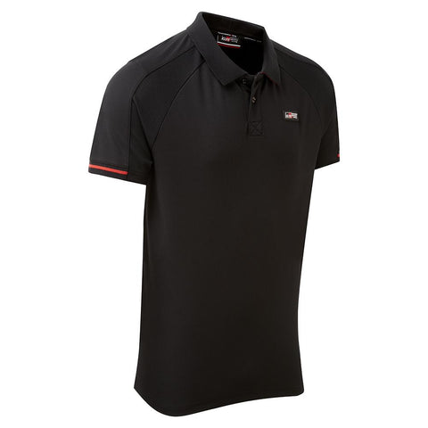 NEW Toyota TGR Men's Black Poloshirt