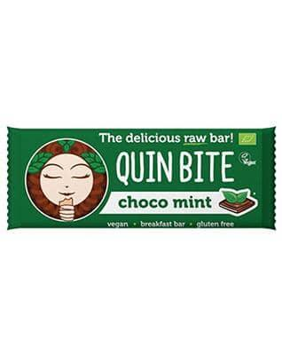Quin Bite, Choco Mint bar, 30g