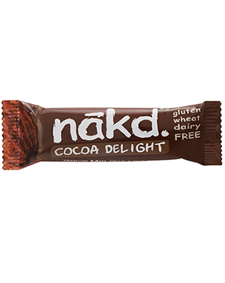Näkd bar cocoa delight 35g