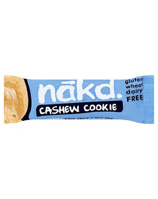 Näkd bar cashew cookie 35g