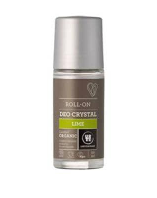 Urtekram Roll-on Deo Crystal, Lime 50 ml økologisk - GreenOS.dk