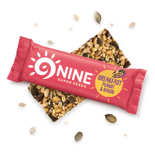 9Bar Breakfast Boost Peanut & Rosin, 50 g.