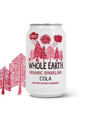 Whole Earth Cola 330ml - GreenOS.dk