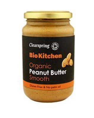 Clearspring, Peanut butter smooth øko, 350 g