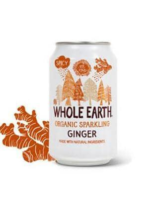 Whole Earth Ginger 330ml - GreenOS.dk